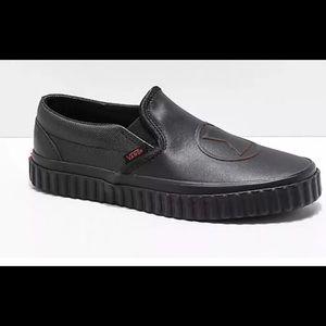 Vans Marvel women's black widow shoes NIB